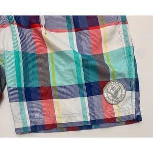American Eagle Outfitters Swim - AEO Plaid Board Shorts Large